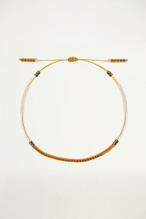 Gouden kralen armband, Fijne armband
