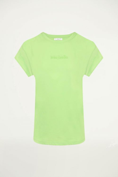 Groen boyfriend shirt tres belle, groen t shirt
