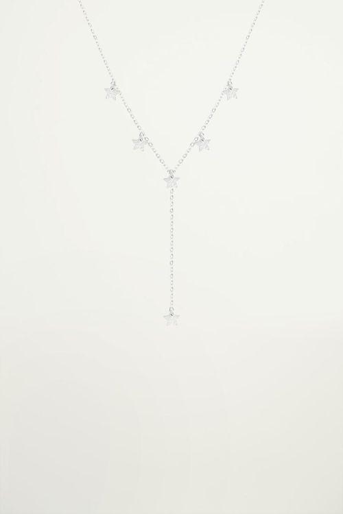 Ketting Y-vorm sterretjes, minimalistische ketting