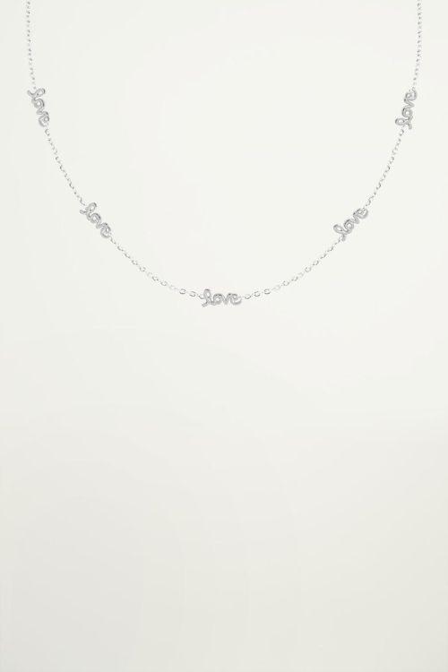 Love necklace, minimalist necklace