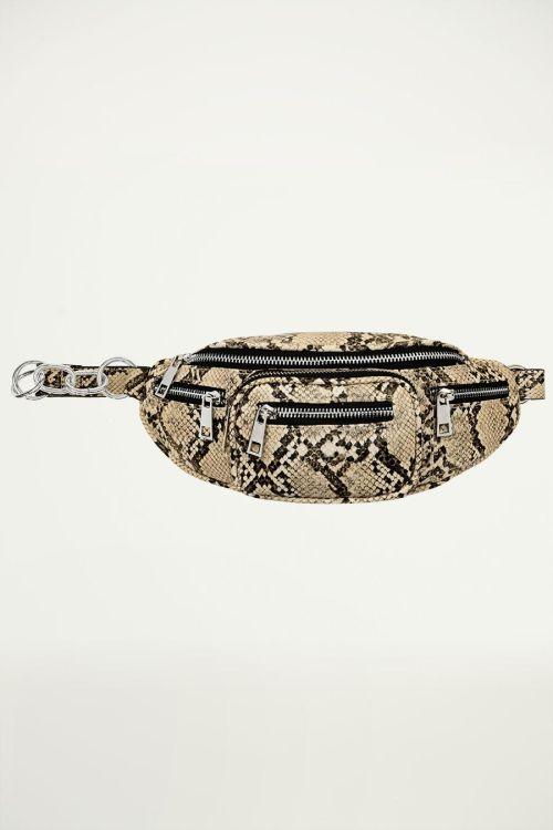 Snake print bum bag, snake bum bag