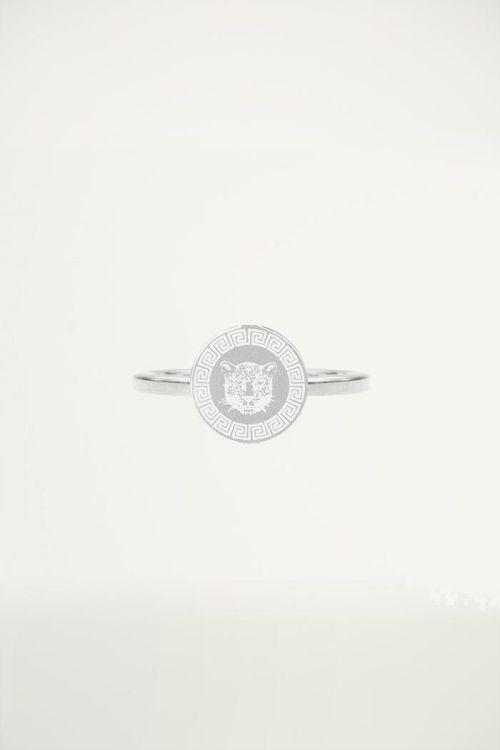 Stalen Ring Luipaard, Minimalistische Ringen