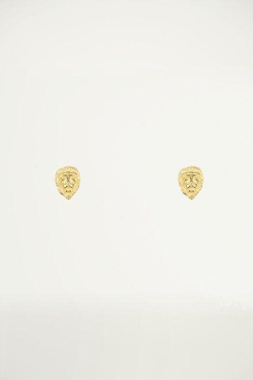 Studs leeuw, Minimalistische oorbellen