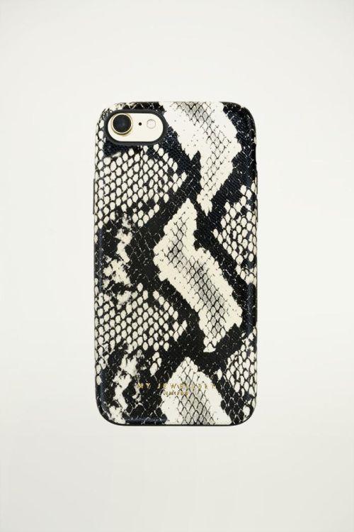 Telefoonhoesje Slangenprint Zwart, iphone hoesje