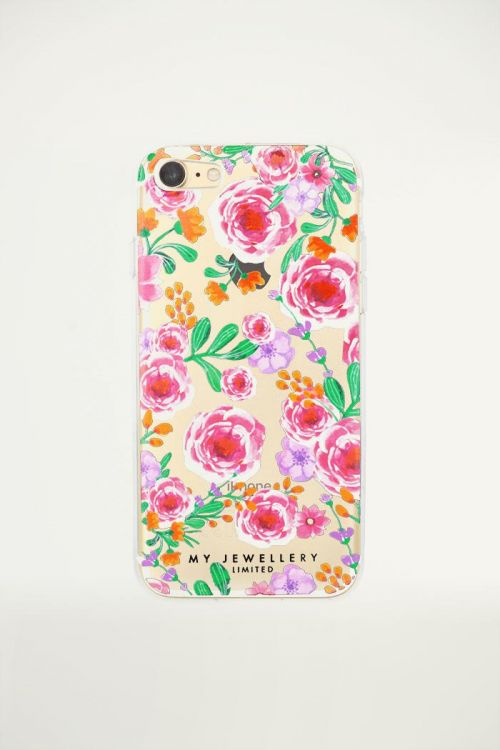 Telefoonhoesje bloemenprint, iphone hoesjes