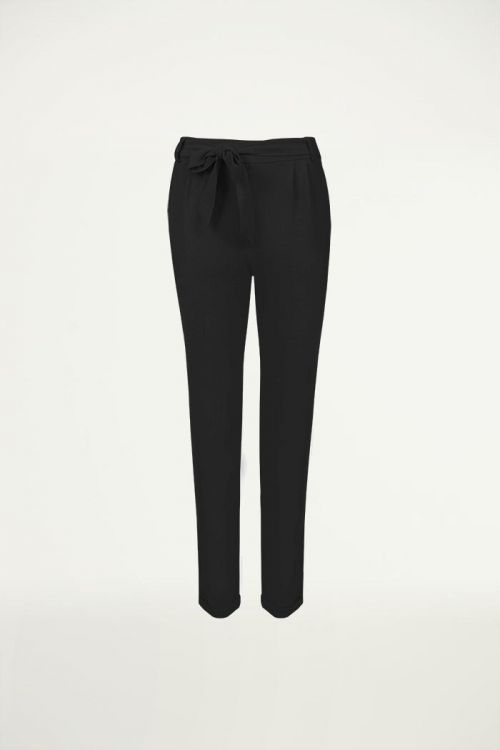 Zwarte pantalon met strik, Broeken