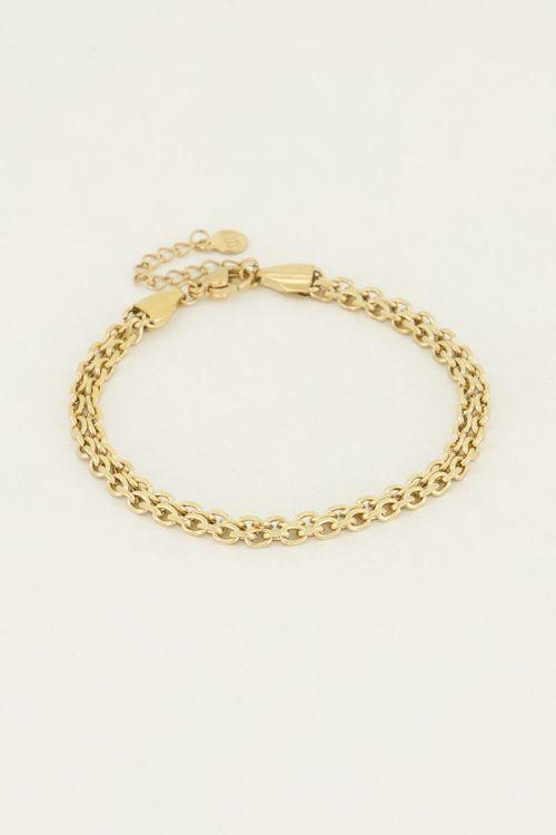 Armband schakel rond   My Jewellery