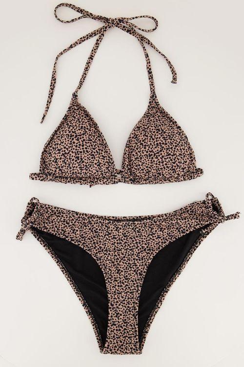 Bikini set luipaard print