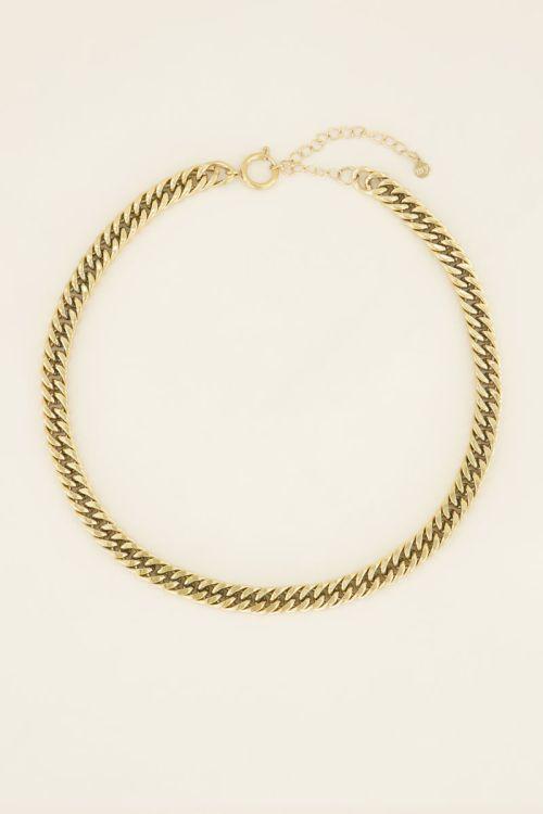 Chain ketting ronde sluiting | My Jewellery
