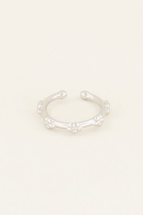 Wildflower ear cuff klein | Ear cuffs | My Jewellery
