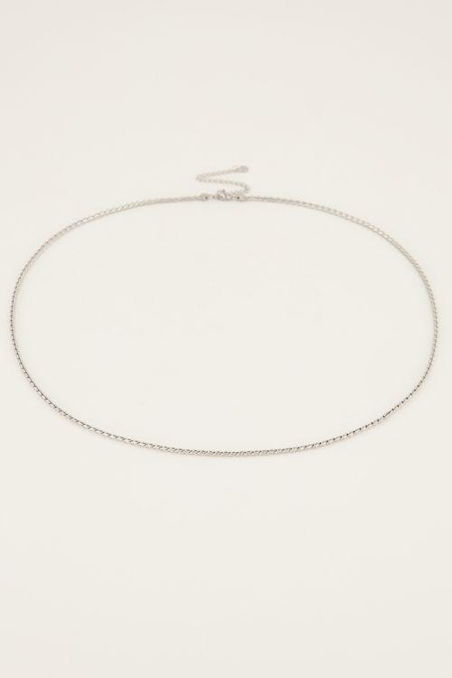 Equal ketting schuine schakel | My Jewellery