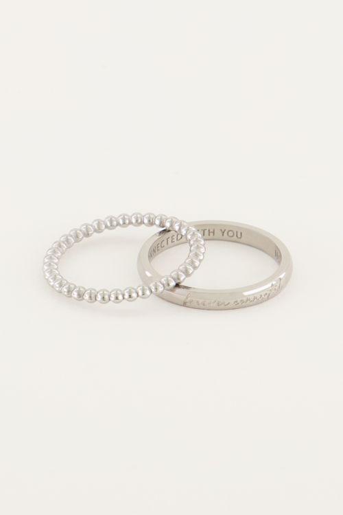 Forever Connected ringen set