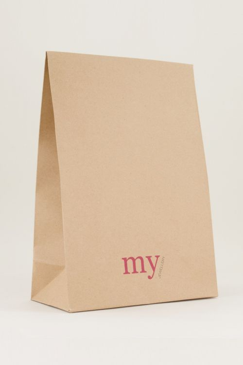 My Jewellery gift bag bruin, Cadeautje My Jewellery