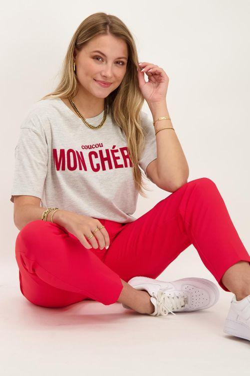 Grijs T-shirt mon chéri | T-shirts | My Jewellery