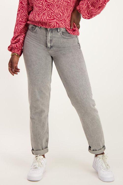 Grijze mom jeans | Jeans | My Jewellery