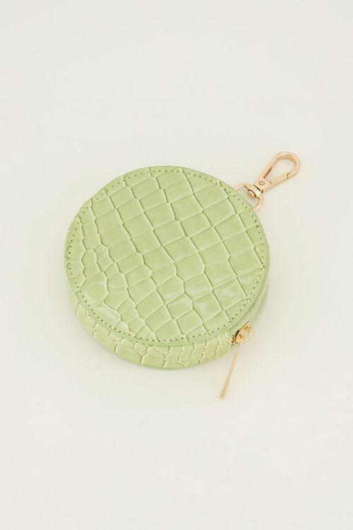 Groene portemonee rond   My Jewellery