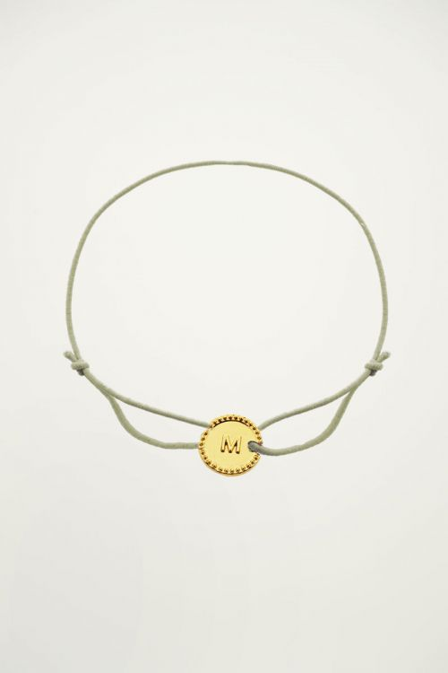initial bracelet, Army initial bracelet