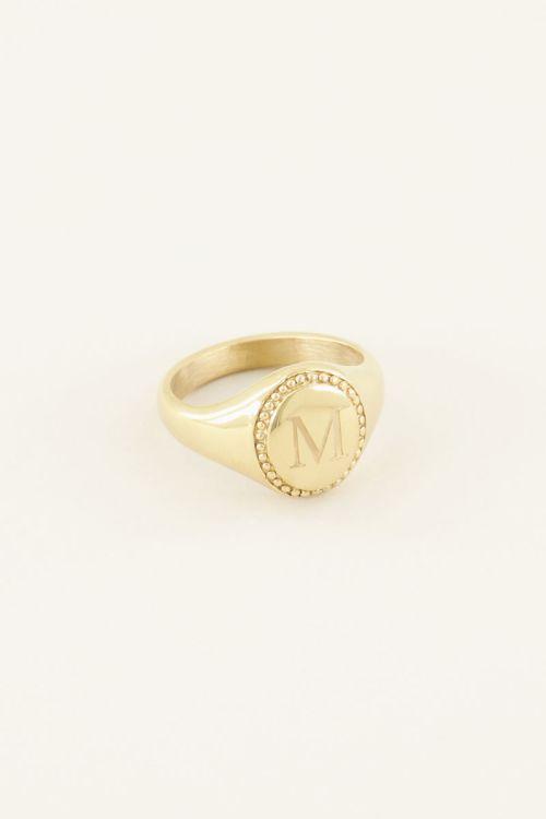 Zegelring initial | My Jewellery