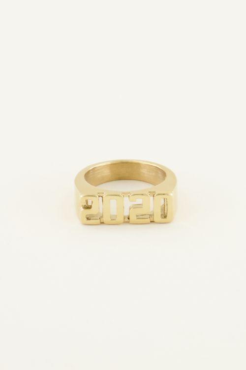 Jaartal ring | My Jewellery