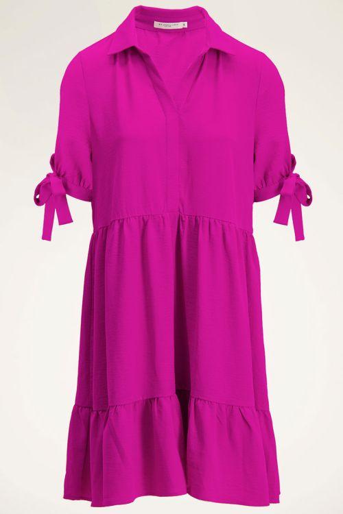 Roze jurk | Blousejurk | Jurken dames My jewellery