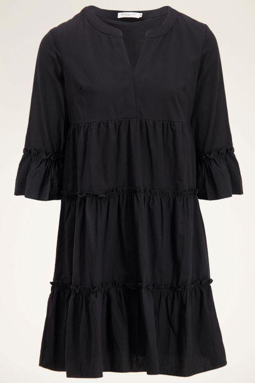 Zwarte jurk wijdvallend | My Jewellery
