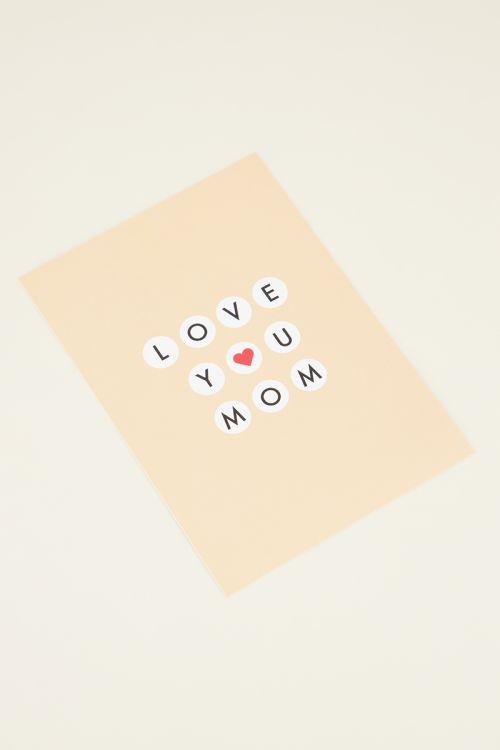 Mom postcard   My Jewellery kaartje