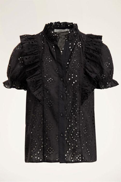 Zwarte blouse embroidery | My Jewellery