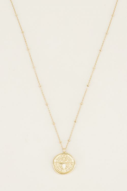 Compass necklace | Necklace with compass at My Jewellery