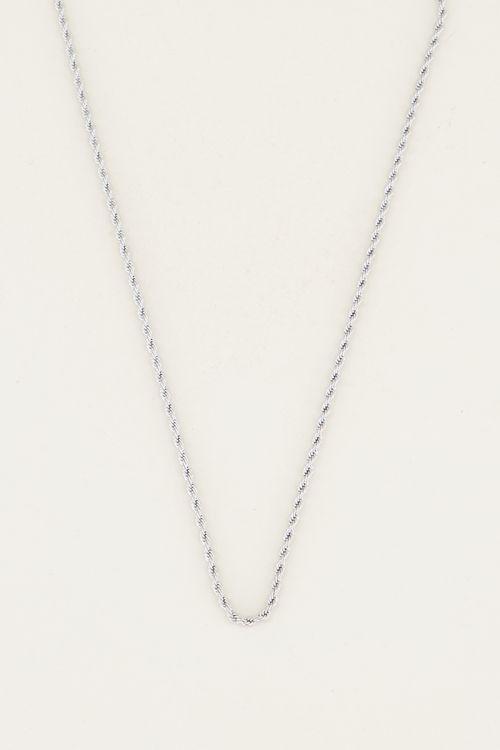 Losse ketting gevlochten | Basic ketting My Jewellery