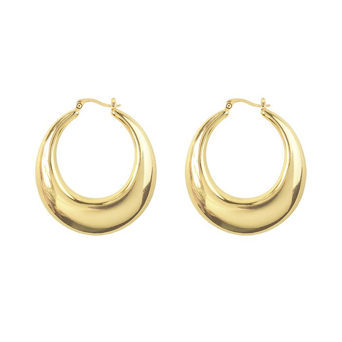 Statement oorbellen in goud en zilver