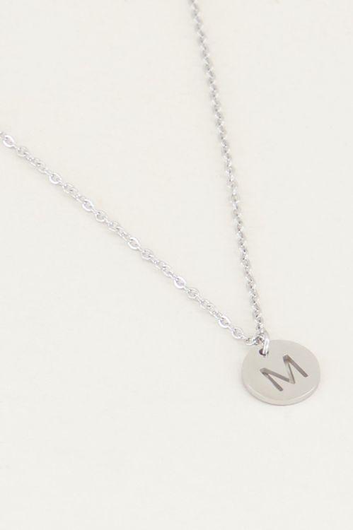 Ketting met letter zilver, Initial ketting, Kettingen My Jewellery