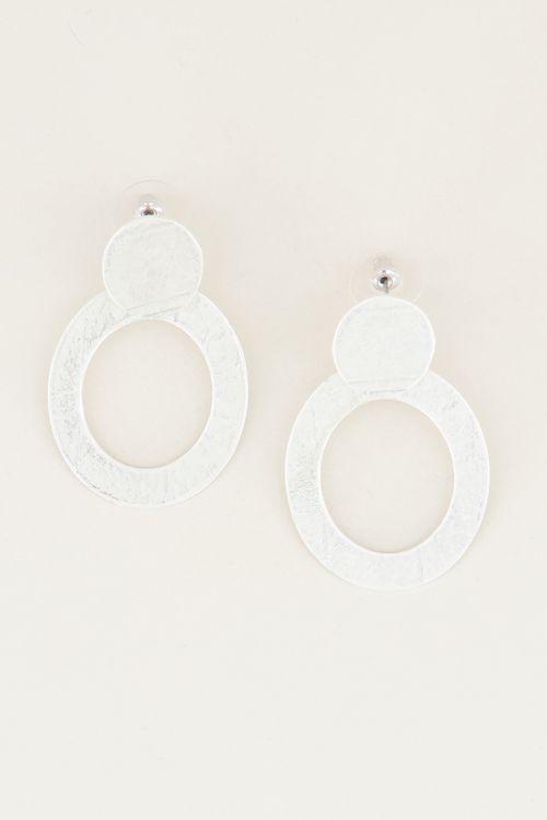 Circle statement earrings | Statement earrings | My Jewellery