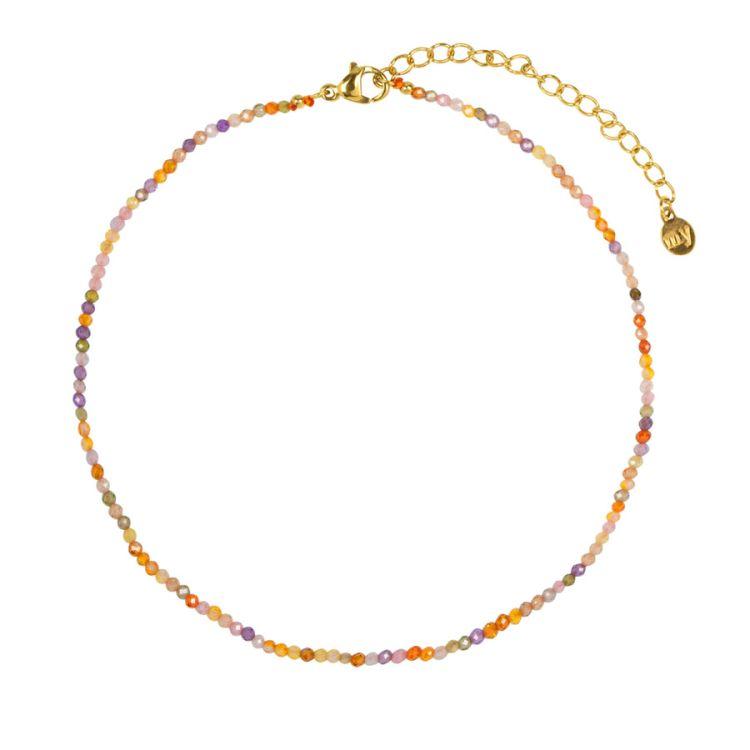 Enkelbandje gekleurde kraaltjes, enkelbandje My Jewellery
