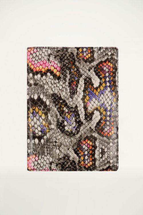 Paspoorthoesje slangenprint, paspoorthoesje My Jewellery