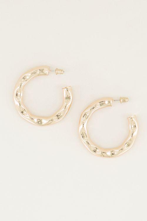 Medium bobbled earrings, large earrings My Jewellery