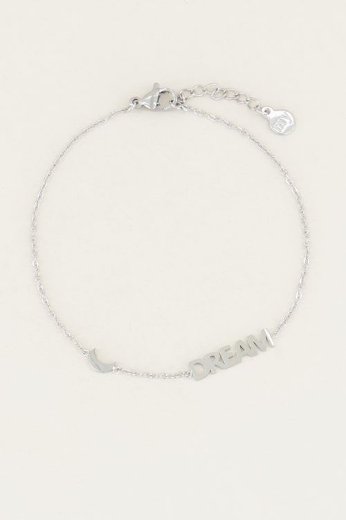 Armband met dream en maantje| Armband cadeau bij My Jewellery