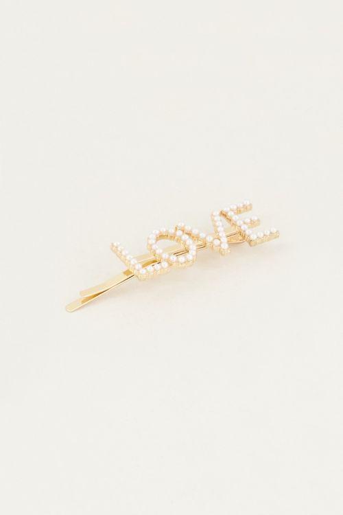 Haarclip LOVE | Haarspelden My Jewellery