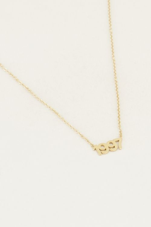 Year necklace | Date of birth necklace My Jewellery