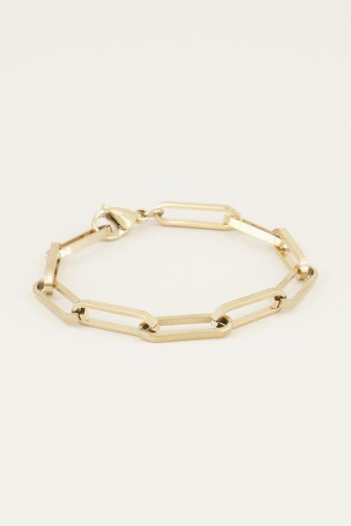 Bracelet with chain links | Chain link bracelet My Jewellery