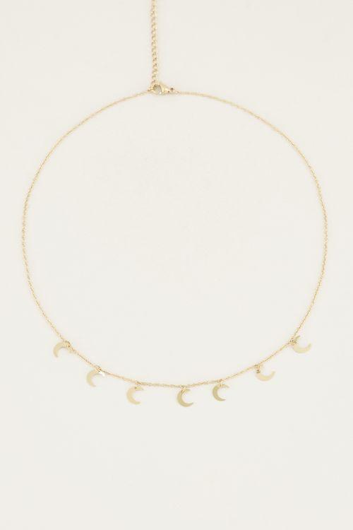 Ketting met maantjes | Ketting maan My Jewellery