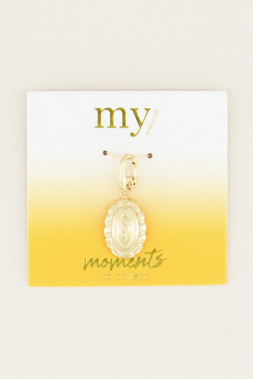 Moments charm vintage rose | Bedel My Jewellery