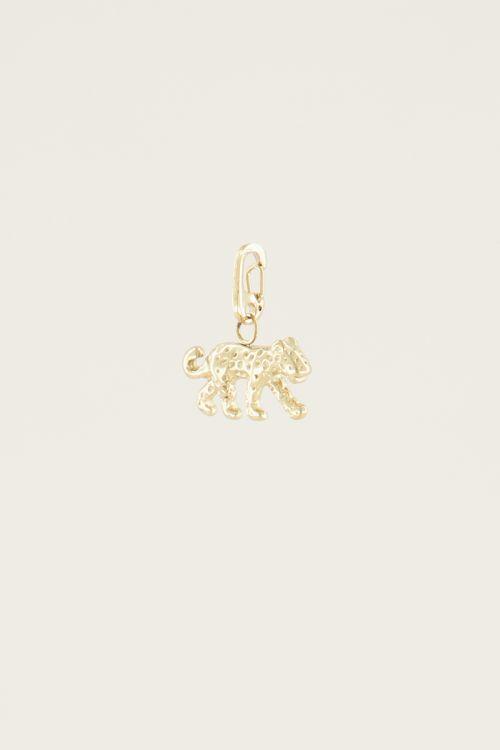 Moments charm leopard | Bedels sieraden My Jewellery