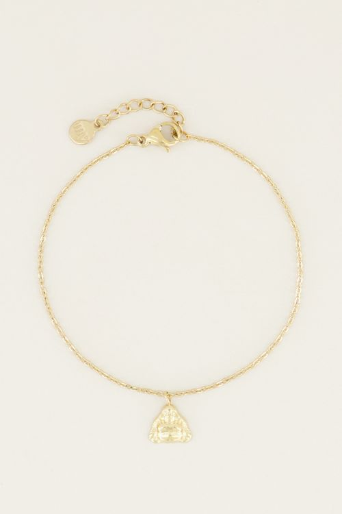 Moments bracelet boedha | Bedel armband bij My Jewellery