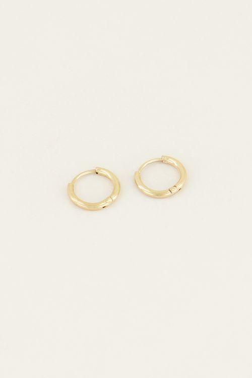 Small basic earrings   My Jewellery
