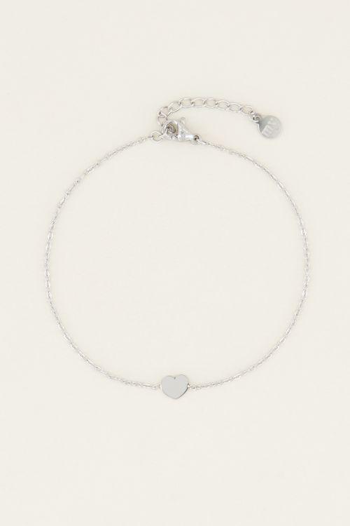 Armband klein hartje | Minimalistische armband My Jewellery