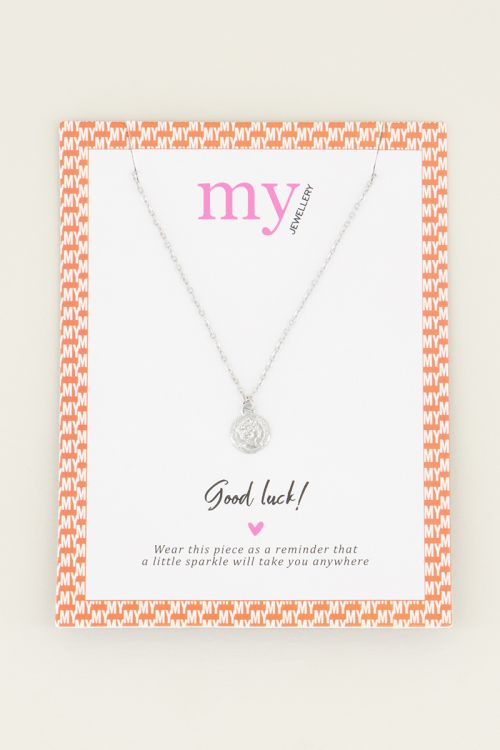 Necklace small coin   minimalist necklace My Jewellery