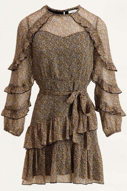 Jurk ruffles & bloemen, jurk met bloemenprint My Jewellery