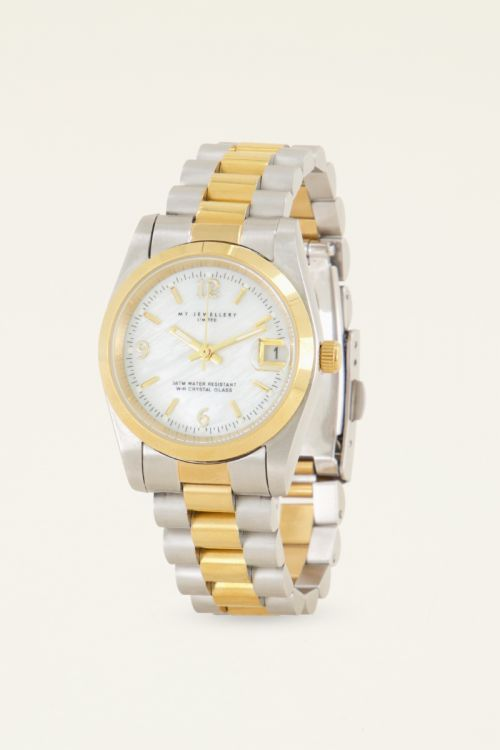 Horloge goud & zilver | Dames horloges | My Jewellery