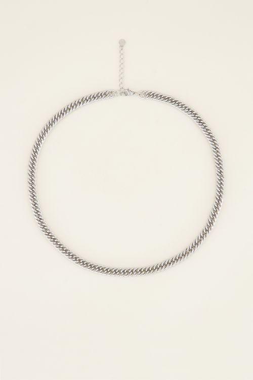 Medium necklace wide links   My Jewellery