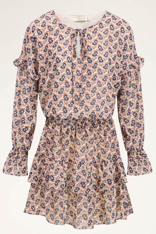 Jurkje met ruffles & print | Dames jurkjes | My Jewellery